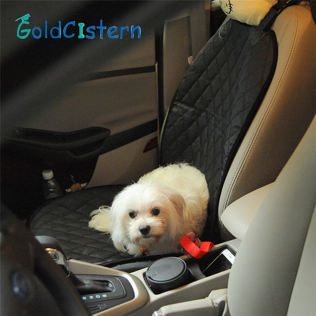 Pet Dog Safety Mats Waterproof Vehicle SUV Trucks Car Front Bench Seat Cover Mat For Puppy Kitten Car Travel Goods for Dog Cat