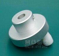 1pcs Out Diameter 50mm Inner Hole 10mm Aluminum Alloy Handle Handwheel Knob
