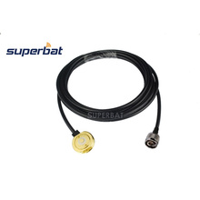 """Superbat Vehicle Antenna NMO Mount 3/4"""" Hole With 500cm RG58 Cable N Type Male Plug Connector"""