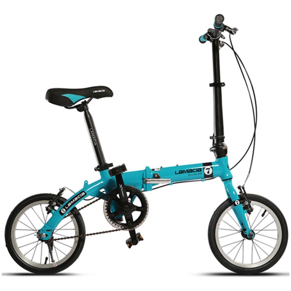 12 kg Portátil Bicicleta Plegable, 14 Pulgadas Ruedas, Aleación de ...