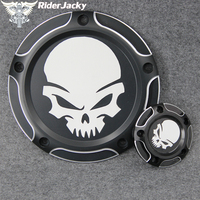 For Harley Touring Road King 99 15 Dyna CVO Twin Cam 99 17 Softail Fat Boy Heritage 99 later CNC Derby Cover Timer Timing Cover