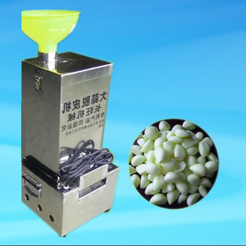 2017 commercial automatic garlic peeling peeler machine,220V/50HZ stainless steel peel garlic machine fast ship to your home