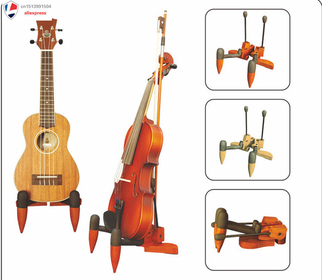 Comprar Instrumento Musical Ukelele Y Violines Soporte Para