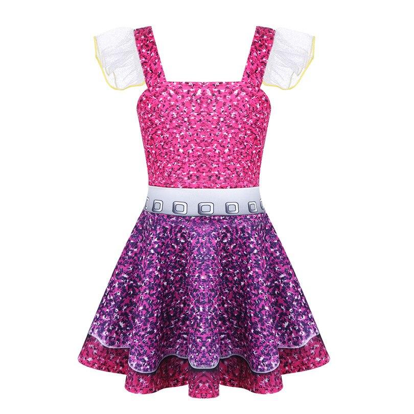 927d90422 IEFiEL lentejuelas niños niñas Ballet tutú vestidos verano Lol ...