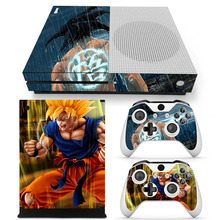 Xbox One Slim Dragon Ball Skins Console 2 Skins