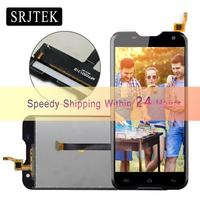 Srjtek For Blackview BV5000 LCD Display Touch Screen 1280X720 5 0inch Assembly 100 Test With Free