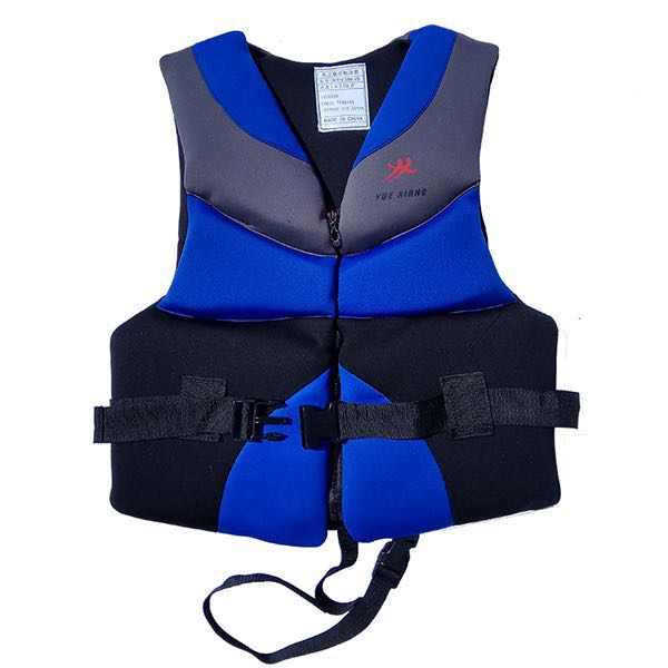 Neoprene life vest neoprene life jacket Profession Surfing Motorboat Fishing Adult Swim Buoyancy Life Vest Floating Clothing цена и фото