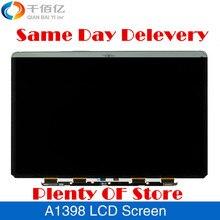 Оригинальный новый LED ЖК-экран для Macbook Pro Retina 15 »A1398 Замена ЖК-экран 2012 2013 2014 год