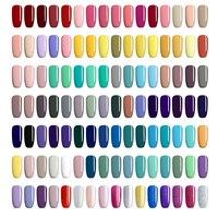 UR AZÚCAR 16 Unids/set 7.5 ml Empapa de Polaco ULTRAVIOLETA Del Gel Puro Rosa Nude Brillo de Larga Duración de Uñas de Arte Manicura de la Laca de uñas de Gel