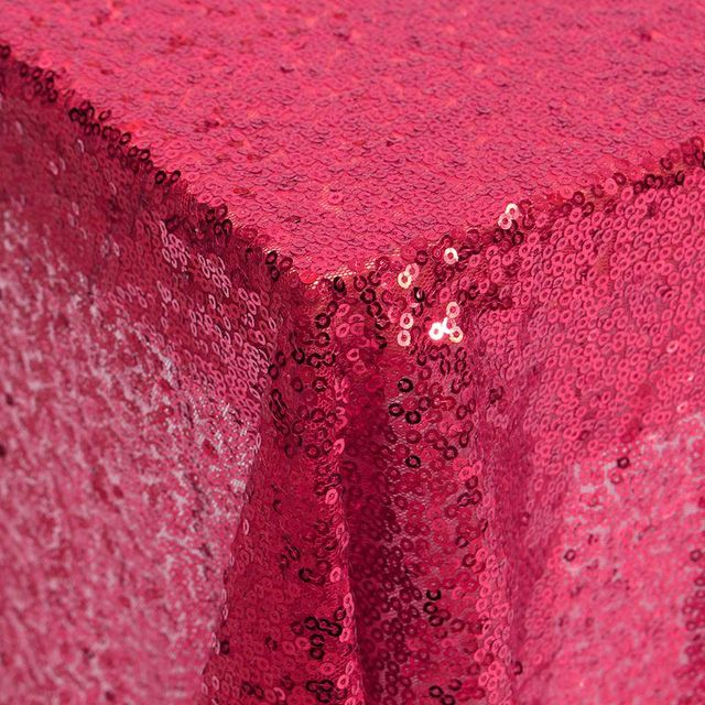 Best Promotion Dark Red Sequin Satin Fabric For Flag Tablecloth Table Runner  Decorative Clothes DIY Craft