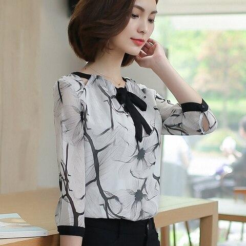Shirts women 2019  white shirts blouse chiffon blouse plus size tops shirts ladies tops womens clothing women clothing 2705 50 Multan