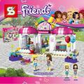 SY838 Friends Pleasure Ground Party Gift Shop Building Block  Compatible with LePIN Brick Toy Christmas Gifts P713
