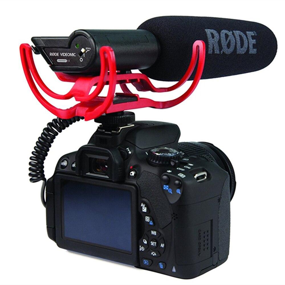 YIXIANG Agent Rode VideoMic On Camera Mounted Shotgun Mic Microphone For Canon T3i 5D2 7D 60D 70D 5D3 Nikon D800 D600 D700