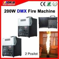 2 teile/los DMX Stadiums effekt Flamme Maschine DMX Feuer Projektor Maschine für Bühnenshow-in Bühnen-Lichteffekt aus Licht & Beleuchtung bei