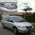 Para chrysler grand voyager voyager 2005 2006 2007 excelente ultrabright ccfl kit angel eyes iluminação angel eyes o halo anel