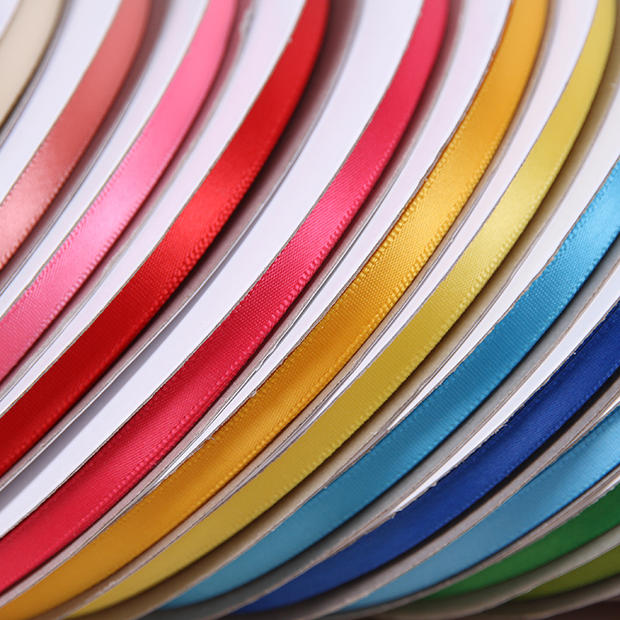 100 Yards 1/4 Inch Double Face Satin Ribbon Coral Satin