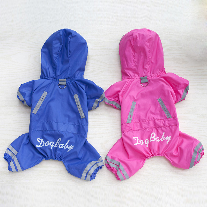 Waterproof Dog Clothes for Small Dogs Raincoat Jacket Lovely Dog Clothing Chihuahua Clothes for Pets 11aY25Q