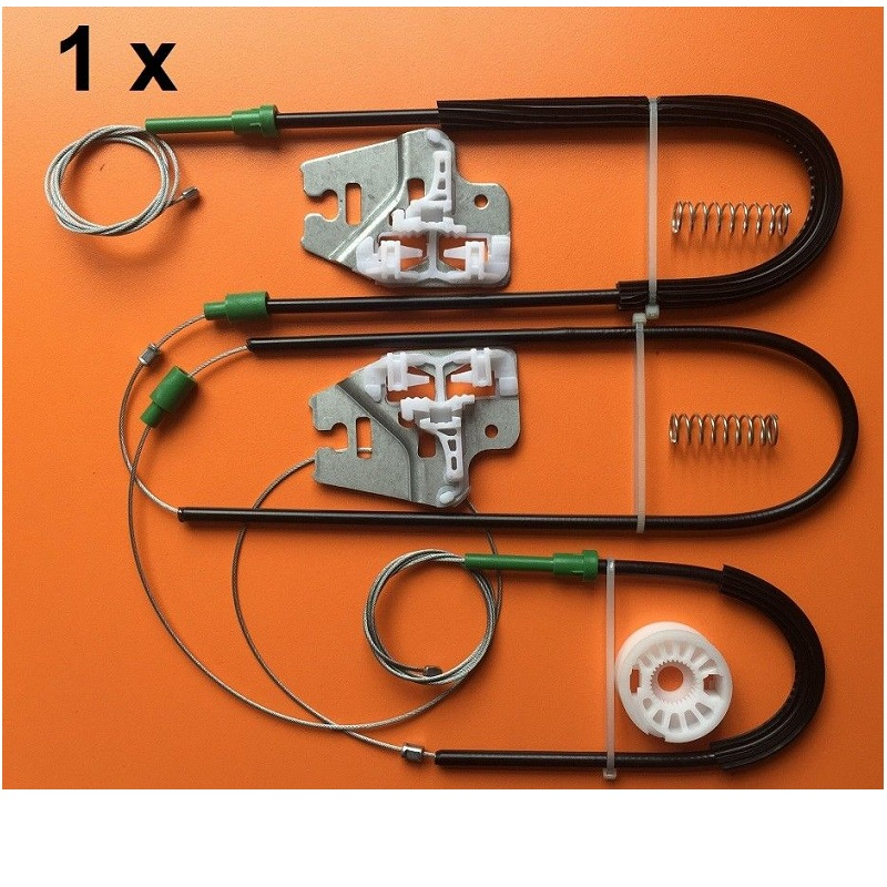 FOR BMW 3 SERIES E46 WINDOW REGULATOR REPAIR KIT WITH METAL SLIDER FRONT LEFT/RIGHT 1998-2005