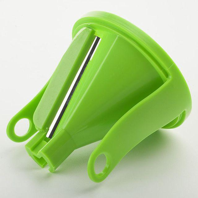 1PC Blades Vegetable Spiralizer Slicer Twister Handheld Spiral Cutter Fruit Grater Cooking Tools Spaghetti Pasta Kitchen Gadget 4