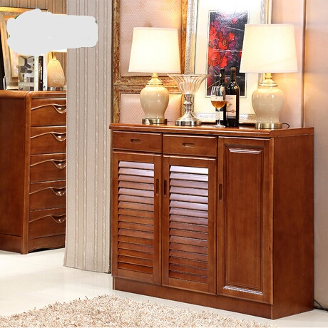 Shoe Cabinets Rack Living Room Furniture Home Assembly Solid Wood Shoes Quality 2017