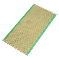 130mm X 250mm Panel Single Side Copper PCB Circuit Board Stripboard Green
