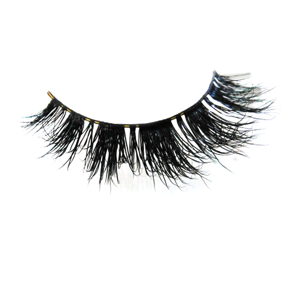 BLUEFRAG Premium Lilly Lashes Miami 100% Real Siberian Mink Strip Eyelashes 3D Mink Lashes Fast Shipping