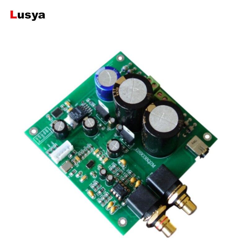 ES9038 Q2M ES9038 I2 carte de décodage DAC carte de décodage pour amplificateur HiFi T0393