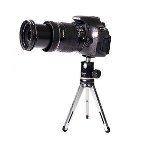 Image 3 - XILETU MT26 + XT15 Hohe Lager Desktop Halterung Mini Tabletop Stativ und Kugelkopf Für DSLR Kamera Spiegellose Kamera Smartphone
