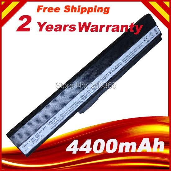 6 Cellules pour ordinateur portable batterie Pour ASUS K52J K52JB K52JC K52JE K52JK K52JR K52N K52EQ K52JT K52JU K62F K62J K62JR Ordinateur Portable
