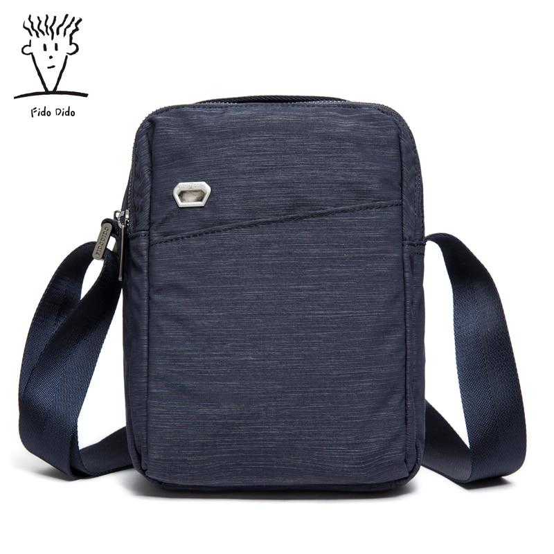 Fido Dido Shoulder Bag Messenger Men Business Casual Bag Sunny Nylon Bag Trend Oxford Bags!! fido