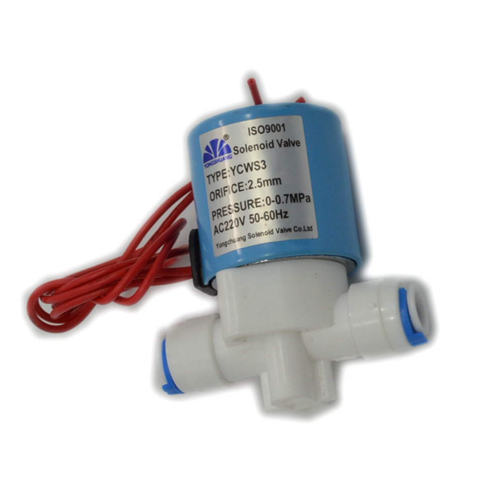 220v Normally Closed 1/4 pipe connection POM Plastic Electric Solar air oil Solenoid Valve Water 1 1 4 stainless steel electric solenoid valve normally closed 2s series stainless steel water solenoid valve