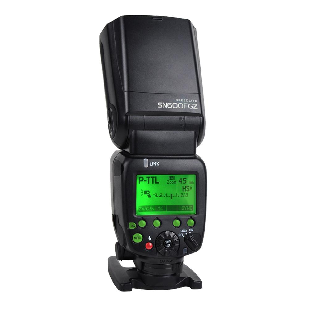 Shanny SN600FGZ P-TTL GN60 1/8000s HSS Flash for Pentax K10D K100D K200D K20D K5 K5II K-3 K-1 645Z K50 K30 K-S1 K-S2 K-70 k