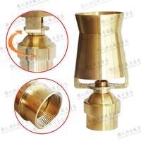 Copper 1.5 inch adjustable universal cedar nozzle fountain pool landscape landscape tree ice fountain head
