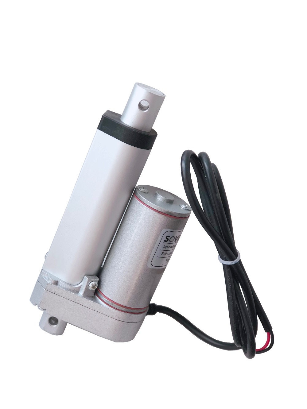 SOViK Electric Linear Actuator 2 inch 50mm Stroke 12V DC Motor Hevey Duty 750N Load Include Mounting Brackets