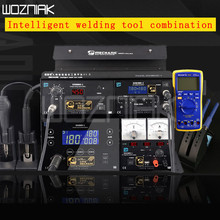 MECHANIC smart phone repair platform four in one soldering station air gun power combination set free to send multimeter