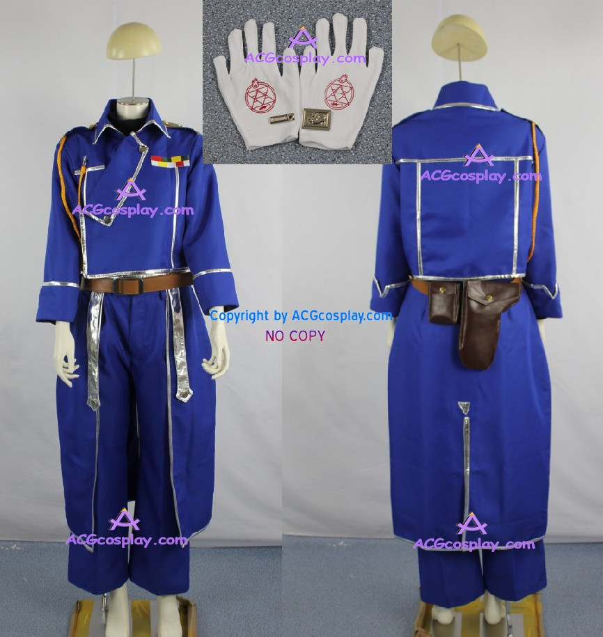 Fullmetal Alchimist Riza Hawkeye Cosplay Costum - Costume carnaval