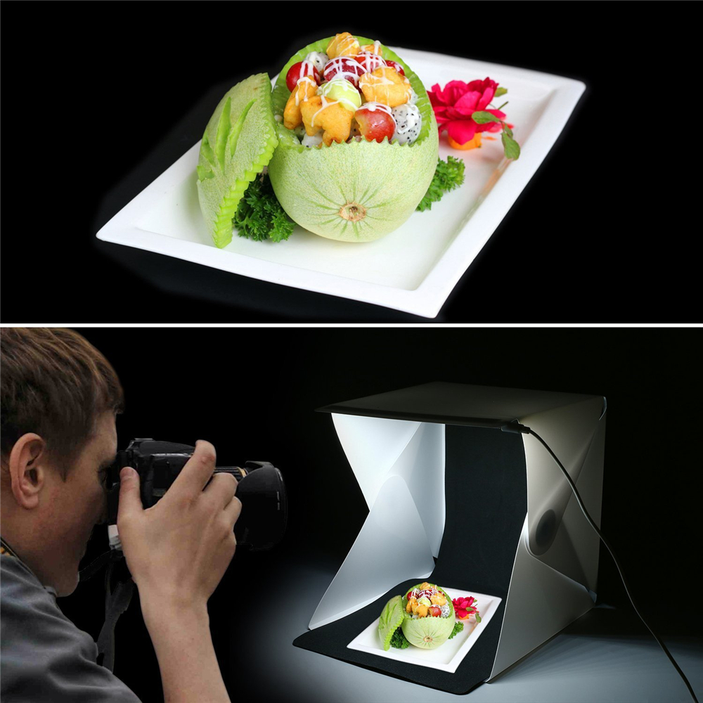 YIXIANG Mini estudio plegable portátil Mini fotografía portátil - Cámara y foto - foto 6