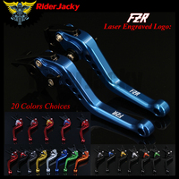 RiderJacky CNC Adjustable 14.7cm Short Brake Clutch Levers For Yamaha FZR600 R 1994 1995 94 95