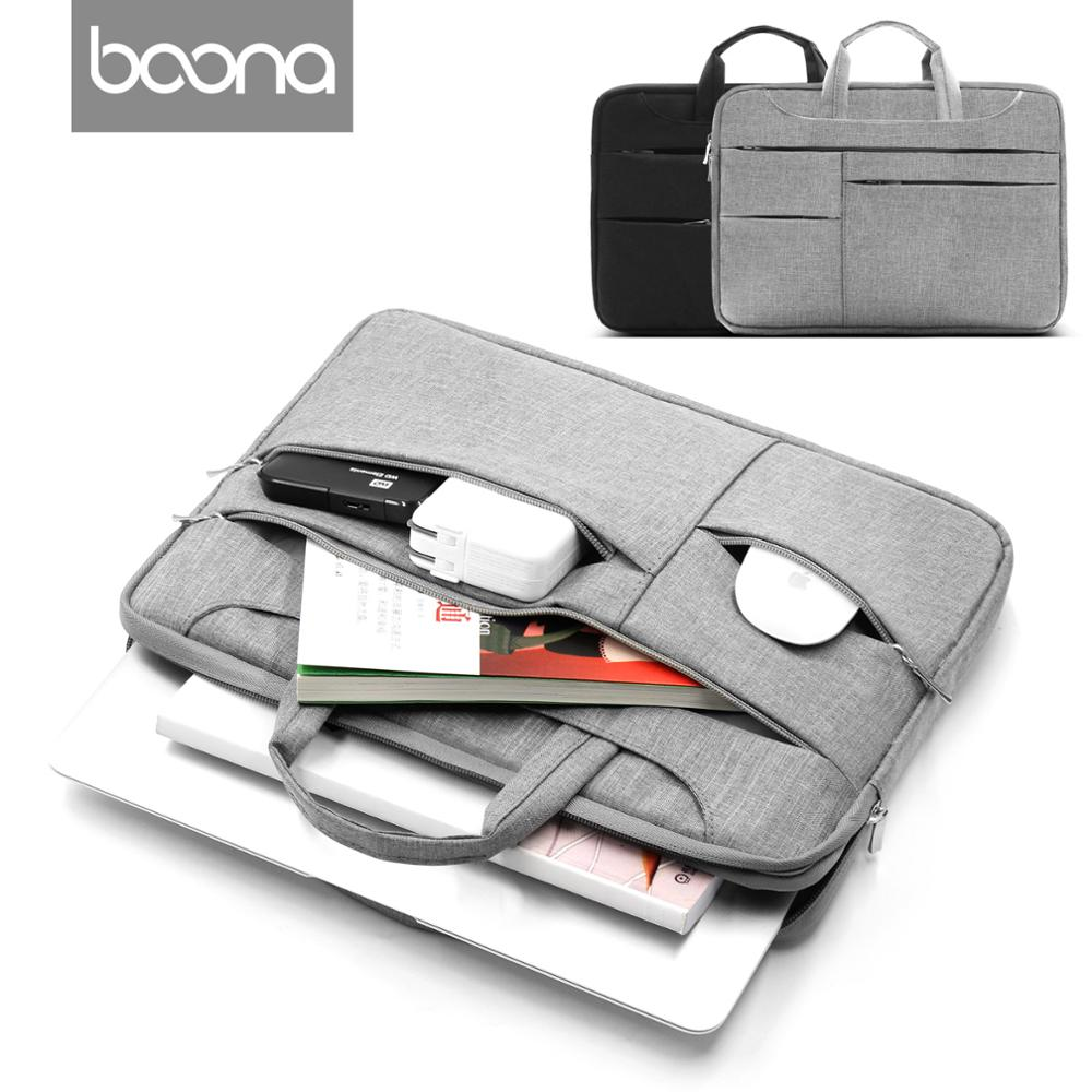 Boona 12/13.3/14/15/15.6 Inch Portable Computer Bag Oxford Zipper Laptop Bag Case Handbag...