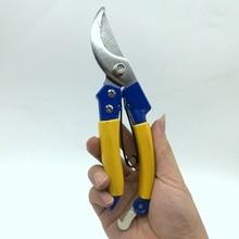 купить 8 inch Aluminum Alloy Garden Tool Pruning Shear Scissors Fruit Ratchet Secateurs Cutting Branch 15-12MM дешево