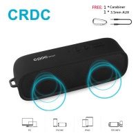 CRDC Wireless Protale Bluetooth 4 1 Speaker Wireless For Every Occasion With Dual 3W Drivers A2DP