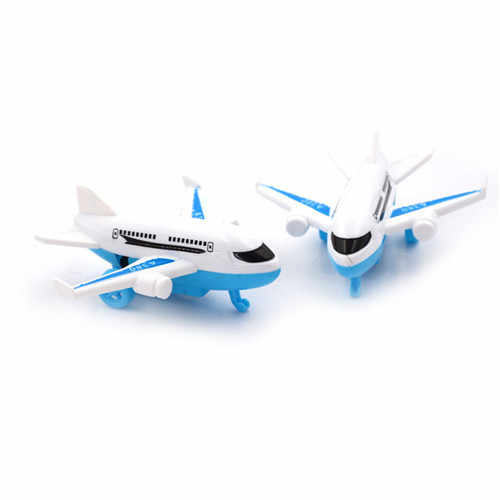Samoloty dla dzieci Diecasts i pojazdy zabawkowe trwały model autobusu powietrznego zabawkowy samolot dla dzieci