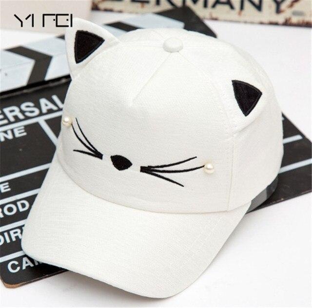 YIFEI 2018 Kids gorras Children Sun Hats 2-8 Years free shipping Baby gorras planas Boys Girls Snapback Hats Caps Baseball Cap