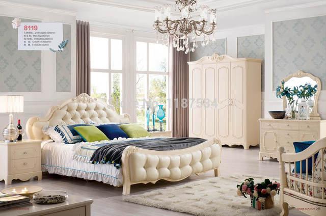 Houten Slaapkamer Meubels : Thuis slaapkamer meubels houten vier deuren kledingkast borst