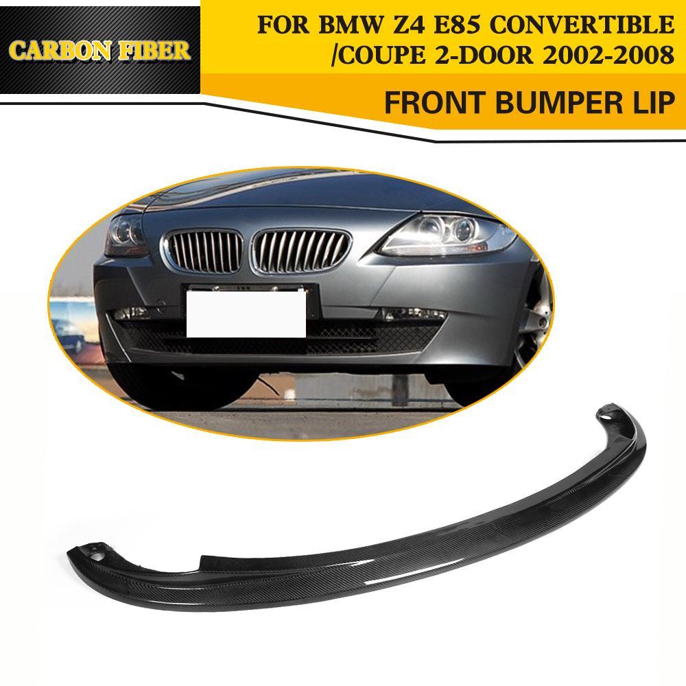 Carbon Fiber Racing Front Bumper Lip for BMW Z4 E85 Convertible Coupe 2-Door 2002-2008