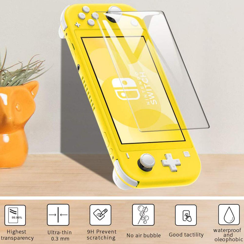Tempered Glass Protector For Nintendo Switch Lite Mini NX Glass Screen Protector Film HD For Nintend Switch Lite Accessories