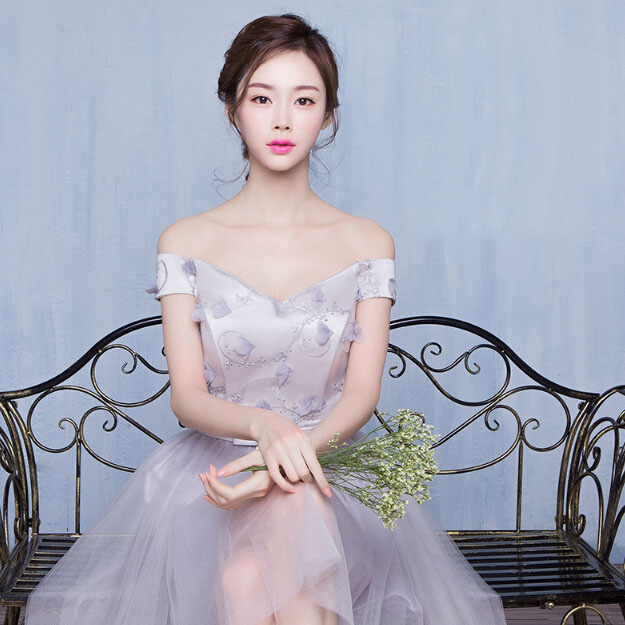 Short princess style prom dresses