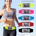 """Correr Desporto Bag Belt Case Para iPhone6 Além Disso iphone 6 S plus 5.5 """"Telefone móvel Arm Band Capa À Prova D' Água Com Suporte Chave"""