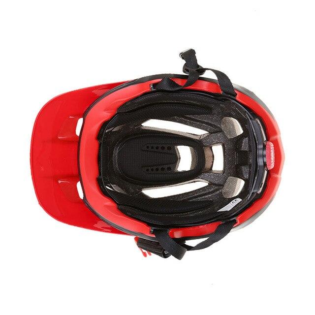 Batfox capacete integralmente moldado, capacete profissional ultraleve para ciclismo, bicicleta de estrada, mtb 5