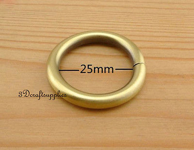 metal O rings O ring purse ring connector anti bronze 25 ...